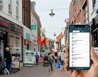 Winkeliers melden toiletten aan bij Hoge Nood-app
