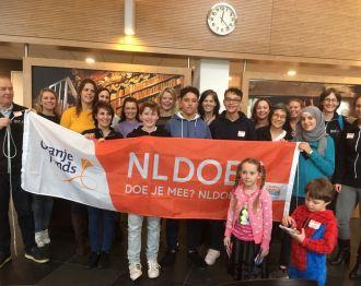 30 vrijwilligers helpen in Oudshoorn tijdens NLdoet