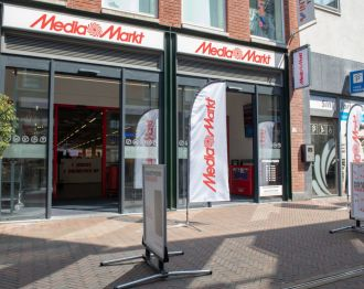 Spectaculaire openingsacties bij Media Markt Alphen