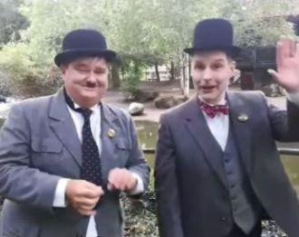 Laurel & Hardy op bezoek in Avifauna